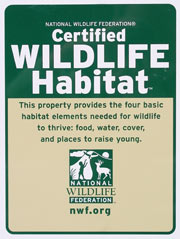 NWF Habitat Certification